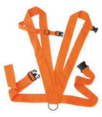 "Allen Dual Harness Deer Drag Two"" Web Construction Rope Included Blaze Orange"