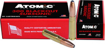 Atomic 300 Blackout Subsonic 260gr, RNSP, 20rd Box