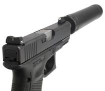 XS DXT Standard Dot - Glock Suppressor Height 17,19,22-24,26,27,31-36,38