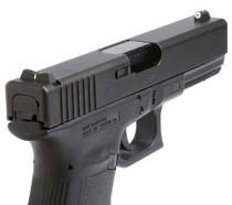 XS DXW Big Dot - Glock 20,21,29,30,30S,37,41 Tritium Front, White Stripe Rear