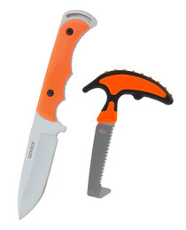 Gerber Freeman Fixed Blade W/ Vital Saw Combo, Orange