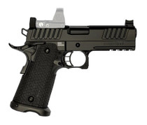 "STI Staccato-P .45 ACP, 4.15"" Bull Barrel, Optics Ready, Black W/ DLC BRL, 13rd"