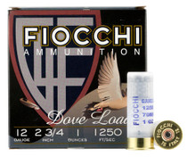 "Fiocchi Shooting Dynamics 12 Ga, 2.75"" 1oz, 6 Shot, 25rd Box"