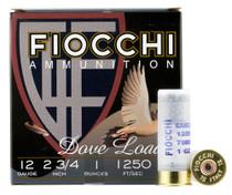 "Fiocchi Shooting Dynamics 12 Ga, 2.75"" 1oz, 6 Shot, 25rd Box"