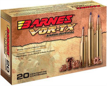 Barnes VOR-TX Rifle 6.5 Creedmoor 20gr, Tipped TSX Boat Tail, 20rd Box
