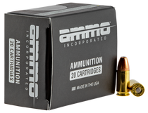 Ammo Inc American Hunter Black Label 9mm 115gr, Jacketed Hollow Point , 20rd Box