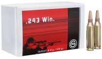 Geco Target 243 Win. 105gr, FMJ, 20rd Box