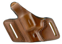 "Bianchi Black Widow Tan Leather Belt Charter Arms Undercover 2"", Left Hand"