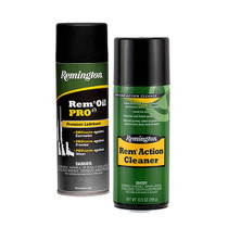 Remington RemOil Pro3 and Remington Action Cleaner 2 x10 oz. Aerosols