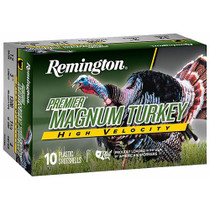 "Remington Premier High Velocity Magnum Turkey Loads 12 Ga, 3"". 5 Shot 1-3/4oz, 1300Fps, 5rd Box"