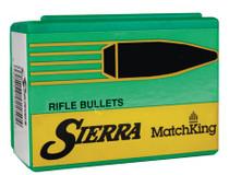 Sierra Reloading Bullets Match King .224 Diameter 52gr, Hollow Point Boattail, 500/Box