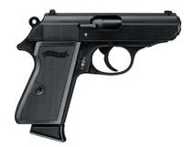 "Walther PPK/S .22 L.R. Black 3.35"" Barrel 10 Round, 1 Mag"