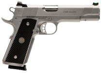 "Wilson Combat 1911 CQB Elite 45 ACP, 5"" Barrel, G10 Diagonal Grip, Black, SS Slide, 8rd"