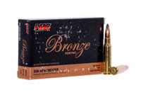 PMC Bronze, 308 Winchester, 150gr, Soft Point, 20rd Box