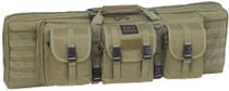 """Bulldog Tactical Double Rifle Case, 43"""", Green"""