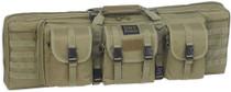 """Bulldog Tactical Double Rifle Case, 37"""", Green"""