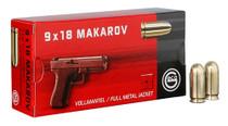 Geco MAK 9x18 Makarov 95gr, Full Metal Jacket, 50rd Box