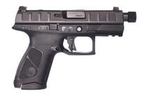 "Beretta APX Centurion Combat 9mm, 3.7"" Barrel, Black, Fixed Sights, 10rd"