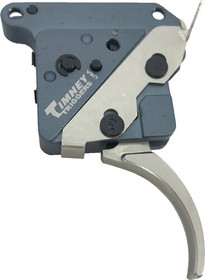 "Timney Triggers ""The Hit"" Curved Trigger For Remington 700, Nickel Finish, Adjustable from 8oz.-2Lbs"
