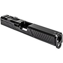 """ZEV Z17 Citadel Stripped Slide Glock 17 Gen3, RMR Plate, Black DLC 7.25"""""""