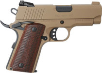 "EAA Girsan MC1911 Officer 45 ACP, 3.40"" Barrel, Flat Dark Earth, 6rd"