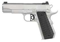"Dan Wesson V-Bob .45 ACP, 4.25"" Barrel, Tritium Front, Serrated Rear, Stainless, 8rd"