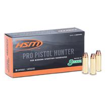 HSM Pro Pistol 500 SW 400gr, JSP, 20rd Box
