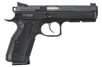 "CZ SP-01 AccuShadow 2 9mm, 4.8"" Barrel, Black Aluminum Grip, Black Nitride Slide, 17rd"