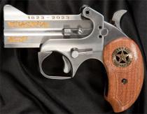 """Bond Arms Texas Ranger 200th Anniversary .45 Colt/410 Ga, 3.50"""", Gold Leafing, SS, 2rd"""