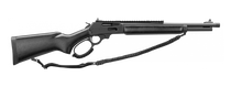 "Marlin 1895 Dark, Lever Action, 444 Marlin, 16.25"" Threaded Barrel, Black Matte Parkerized Finish, Black Webbed Harwood Stock, Big Loop Lever Right Hand, 5Rd, XS Lever Rail With Ghost Ring Sight"