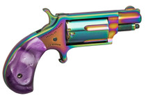 "NAA Magenta Mini Magnum TALO Exclusive 22 Mag 1 1/8"" Barrel, Titanium Rainbow Coating"