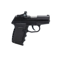 "SCCY CPX-2 Red Dot 9mm 3.1"" Barrel, Black Polymer Grip/Frame Grip, 10rd, Crimson Trace Red Dot"