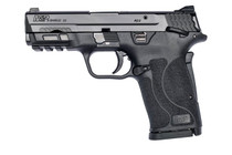"Smith & Wesson M&P Shield EZ M2.0 Compact 9mm, 3.675"" Barrel, Black, Manual Safety, 8rd"