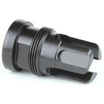 Griffin Armament Mini Flash Hider, 7.62MM, 5/8 x 24 RH, Black