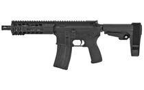 "Radical Firearms Forged AR Pistol 5.56/.223, 7.5"", MLOK, SBA3 Brace, Black, 30rd"