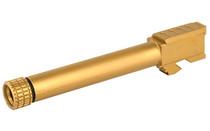 Grey Ghost Precision Glock 17 Barrel, 9mm GLOD Tin, Threaded