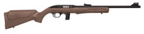 """Rossi RS22 22 LR, 18"""" Barrel, Brown, Synthetic Stock, 10Rd, Adjustable Sights"""