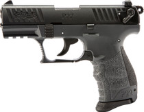 "Walther P22Q .22 LR, 3.4"" Barrel, 3 Dot Sights, Tungsten Gray, 10rd"
