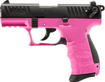 "Walther P22Q .22 LR, 3.4"" Barrel, 3 Dot Sights, Hot Pink, 10rd"