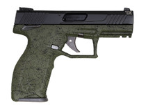 "Taurus TX22 .22 LR, 4"" Barrel, Green Splatter, Black Slide, 2x 16rd"