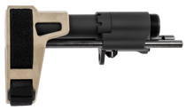 SB Tactical PDW Stabilizing Brace, Black and, Flat Dark Earth, AR15, Standard BCG and Buffer