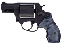 "Taurus 856 .38 Special, 2"" Barrel, Fixed Sights, Black Pearl Grip, Matte Black, 6rd"