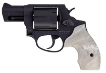 "Taurus 856 .38 Special, 2"" Barrel, Fixed Sights, White Pearl Grip, Matte Black, 6rd"