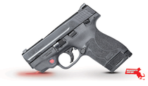 "Smith & Wesson M&P 9 Shield M2.0 9mm, *MA*, 3.1"" Barrel, Crimson Trace Laser, Black, 7rd/8rd"