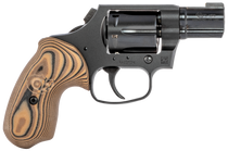 "Colt Night Cobra, Revolver, 38 Special, 2"" Barrel, Steel Frame, Black, VZ Hyena Brown Grips, 6Rd, Brass Bead Front Sight"