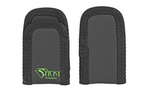 Sticky Holsters Mini Mag Sleeve, Magazine Pouch, Ambidextrous, Single Stack Mag, Black, 2 Pack