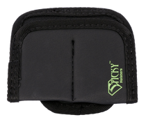 Sticky Holsters Dual Mini Mag Pouch, Ambidextrous, Fits Most Single Stack Magazines up to 40 S&W, Black