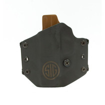 Sig P365XL, Left Hand, Outside The Waistband, Black, Fits P365XL, Kydex