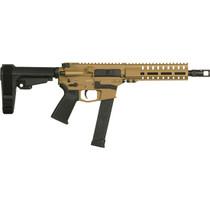 "CMMG Banshee 300 10mm, 8"" 1:16 Barrel, Burnt Bronze, RipBrace, M-Lok, Magpul Grip, 30rd Glock Mag"