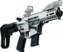 "CMMG Banshee 300 MK57 5.7x28mm, 5"" Barrel, Titanium, Black Magpul, RipBrace, 20rd"